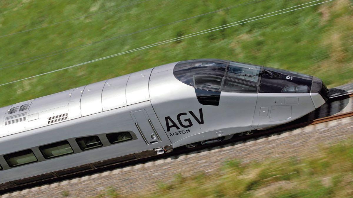 Udoskonalane TGV, czyli AGV- konkurencja dla kolei magnetycznej.