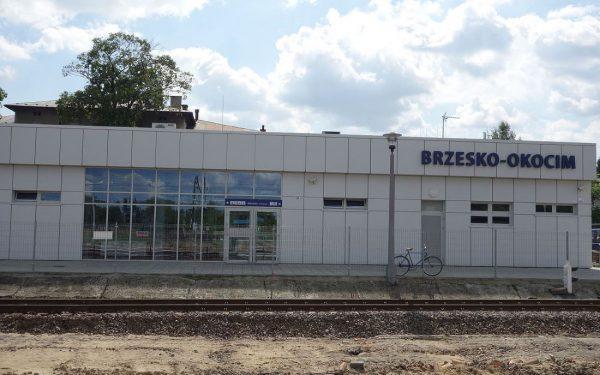 Dworzec kolejowy Brzesko-Okocim